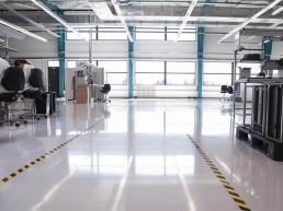elektrický vodivé povrchové úpravy priemyselných podláh