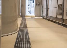 betónová podlaha Kia Motors