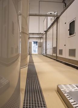 KIA motors betónové podlahy