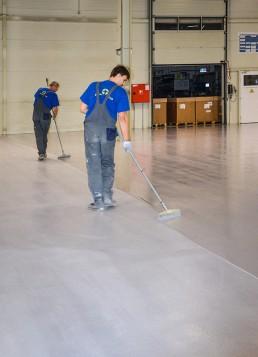 Vaillant betónové podlahy