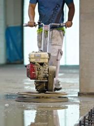 betónové konštrukcie priemyselných podláh brúsenie podlahy