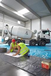 betónové konštrukcie priemyselných podláh brúsenie podlahy domiešavač
