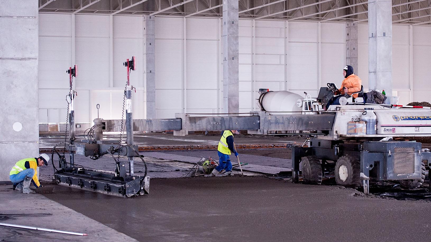 betónové priemyselné podlahy