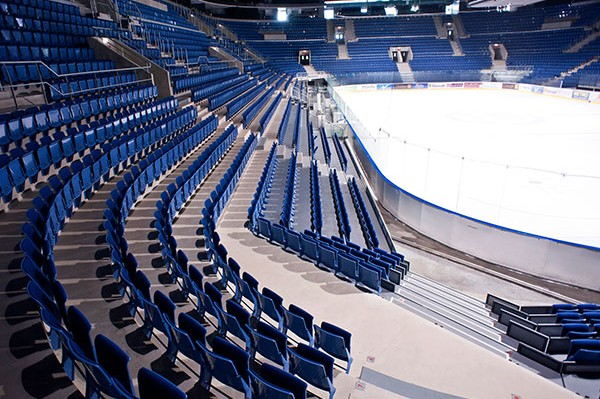 povrchové úpravy betónových konštrukcií zimný štadión