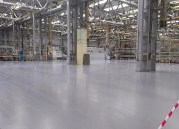 Sauer Danfoss betónové podlahy