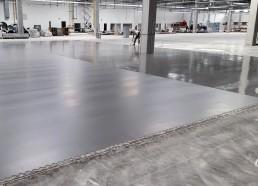 ZF Sachs betónové podlahy